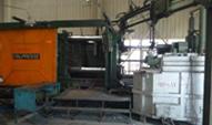 Kalltkammer - Druckgussmaschine mit 1.100 to Schließkraft